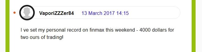 Відгуки про брокера Finmax в англомовному сегменті